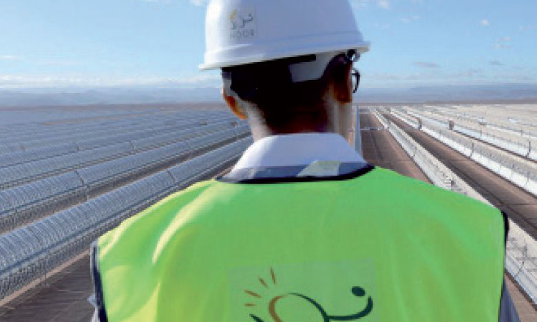 La phaseI de Noor-Midelt, en cours d'adjudication, portera sur 825MW: 300MW en CSP et 525 en PV, sur la base deux centrales de technologie hybride.