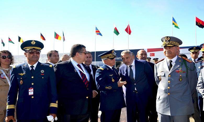 """Coup d'envoi de la 6e édition du """"Marrakech Air Show"""""""