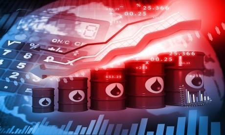 Le FMI table sur un cours du baril à 68,8 dollars en moyenne en 2019