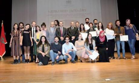 La cérémonie de remise de diplômes aux lauréats de la 28e promotion de l'Institut supérieur d'art dramatique et d'animation culturelle et ceux de la 22e promotion de l'Institut national des beaux-arts de Tétouan célébrée le 10 octobre.