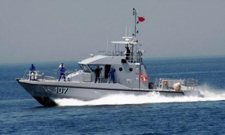 La Marine Royale assiste 59 Subsahariens au large de Nador