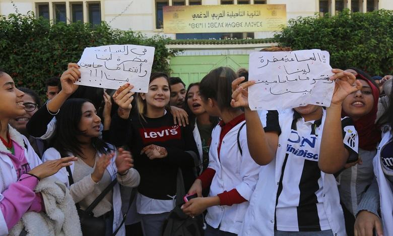 Boycott des établissements scolaires : le ministère temporise