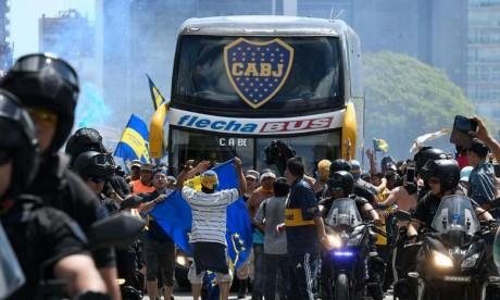 Des arrêstations à Buenos Aires