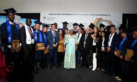 Les coachs territoriaux africains primés à Marrakech