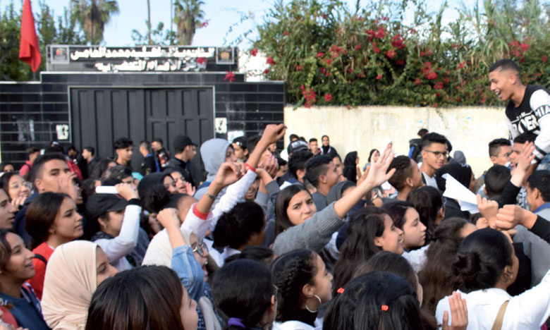 Des centaines d'élèves ont organisé des manifestations dans plusieurs villes. Ph. Seddik