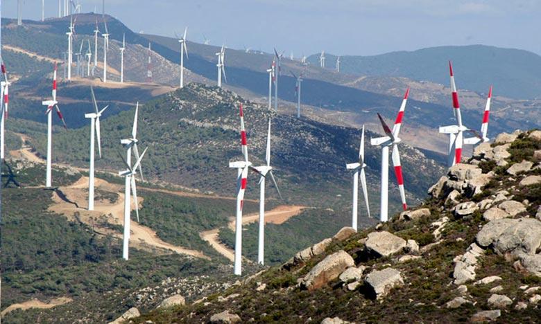 Projet éolien intégré 850 MW : démarrage des travaux de construction du parc de Midelt