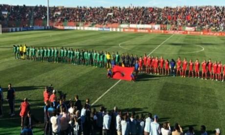 """La sélection africaine domine l'équipe du """"reste du Monde"""" menée par Ronaldinho"""