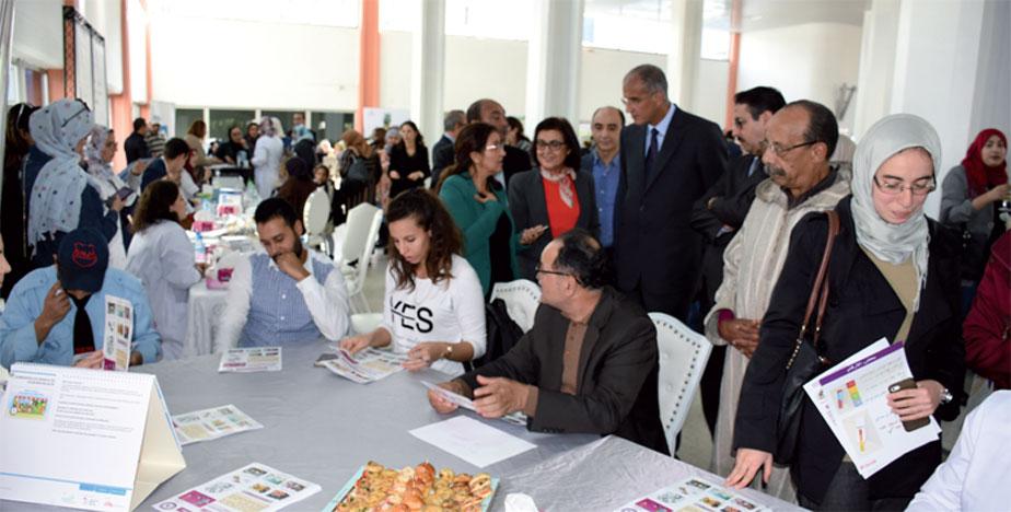 L'Assed-Casa a organisé des rencontres avec les familles pour leur apporter des informations afin de prévenir le diabète ou améliorer son traitement. Ph. Seddik
