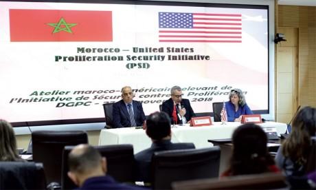 Le Maroc et les États-Unis réaffirment leur engagement commun pour la paix, la sécurité  et la stabilité dans le monde