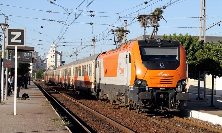 L'ONCF, qui a vu le nombre de voyageurs passer de 13 millions en 2000 à 38 millions en 2017, s'est engagé sur des projets très structurants ayant contribué à régler le problème de saturation du réseau ferroviaire. Ph : DR