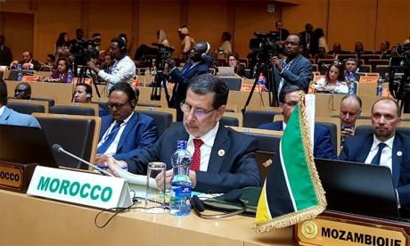 Le Maroc réitère son soutien total à la réforme institutionnelle de l'Union africaine