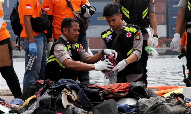 L'équipe de secours est parvenu à évacuer 105 sacs de corps étiquetés par le dispositif d'Identification des victimes de catastrophes (DVI). Ph : DR