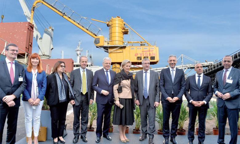 Mass Céréales Al Maghreb fait appel  à la technologie belge