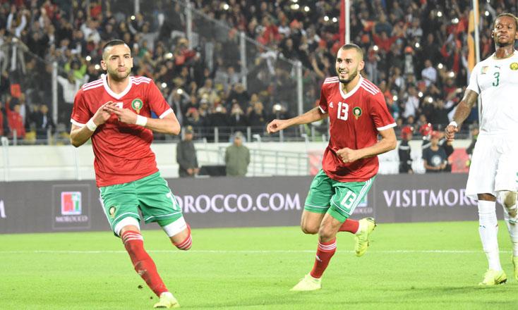 Magnifique! Le Maroc bat pour la première fois le Cameroun et se qualifie à la CAN2019