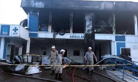 Incendie meurtrier dans un hôpital de Rio