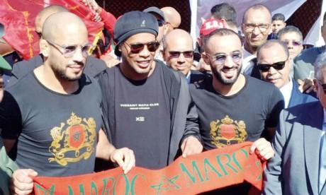 Les All Stars africains ont pris le meilleur  sur Ronaldinho et compagnie