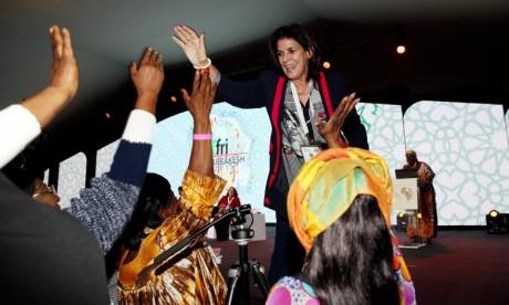 Fatna Lkhiyel élue 1re vice-présidente du Réseau des Femmes élues locales d'Afrique