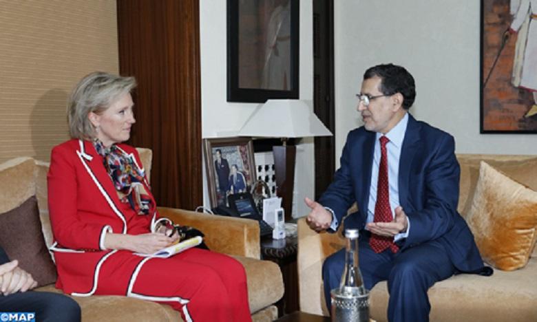 Le chef du gouvernement reçoit à Rabat la Princesse Astrid,  représentante de Sa Majesté le Roi des Belges