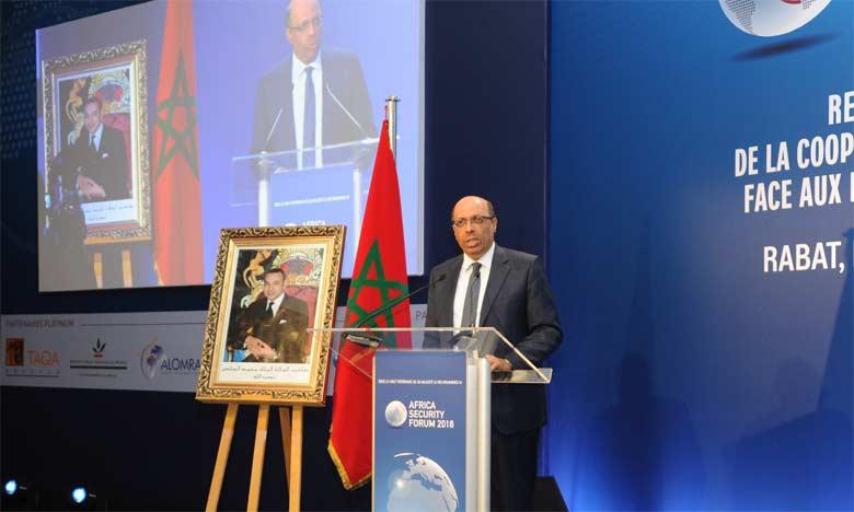 Noureddine Boutayeb a déclaré que le Royaume a réussi jusqu'à fin septembre 2018 à mettre en échec environ 68.000 tentatives d'immigration clandestine et à démanteler 122 réseaux criminels actifs dans ce trafic.  Ph. MAP