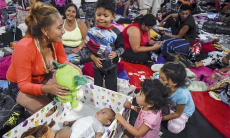 5.500 migrants en route pour les États-Unis sont arrivés à Mexico