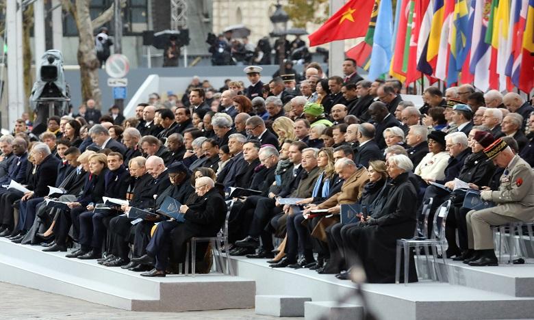 Des dizaines de chefs d'Etat et de gouvernement réunis à Paris