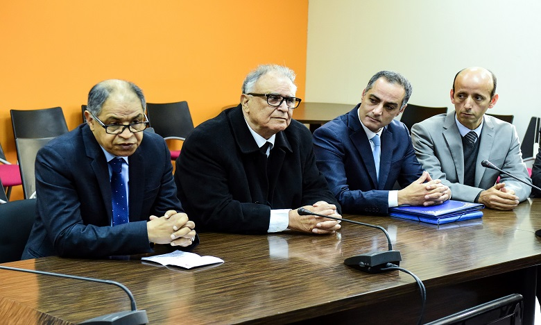 Passation des pouvoirs entre MM. Abdelali Benamour et Driss Guerraoui