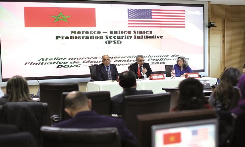 Le Maroc et les États-Unis engagés pour la paix, la sécurité et la stabilité dans le monde