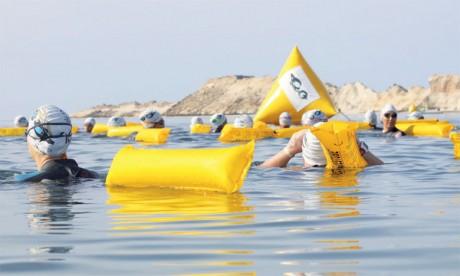 160 nageurs étaient sur la ligne départ de la première étape