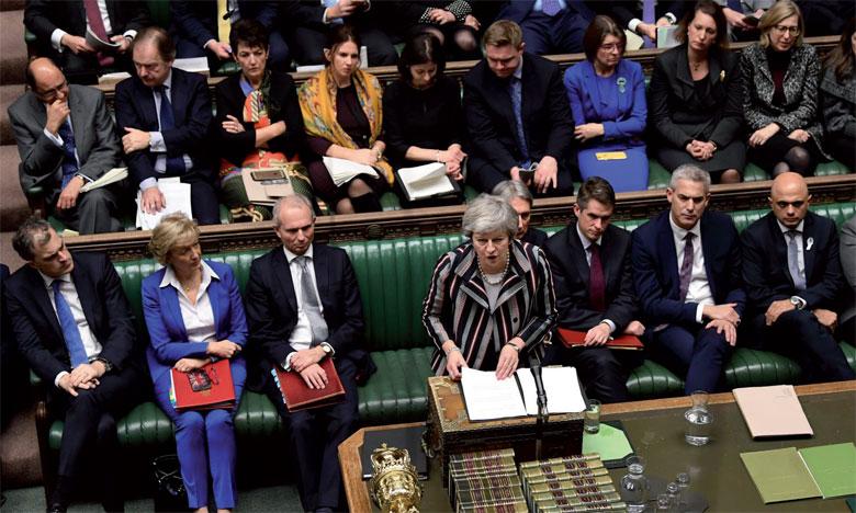 Le vote au Parlement britannique le 11 décembre sur l'accord scellé par la Première ministre Theresa May avec les 27 pays de l'UE s'annonce loin d'être gagné. Ph. AFP