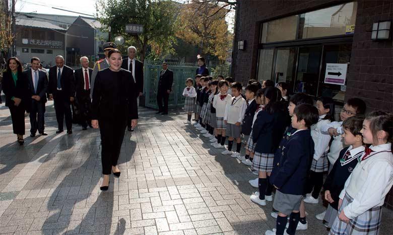 Le Maire de Kyoto offre un dîner en l'honneur de S.A.R. la Princesse Lalla Hasnaa