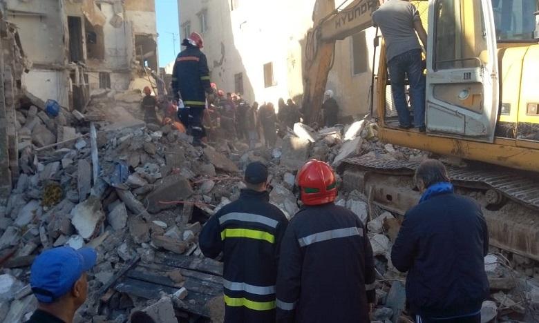 Casablanca : nouvel effondrement d'une maison à l'ancienne médina (vidéo)