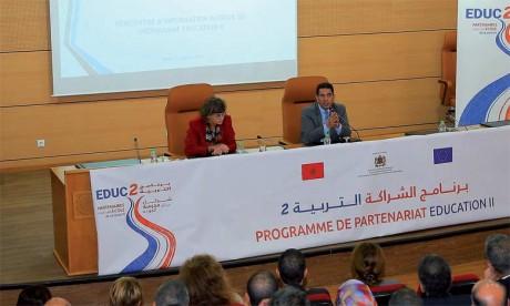 Rencontre d'information à Rabat autour du programme «Éducation II»