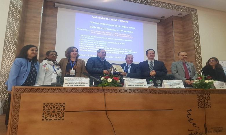 la Ligue marocaine de lutte contre le diabète et l'Université Ibn Tofaïl  célèbrent  la Journée mondiale du diabète