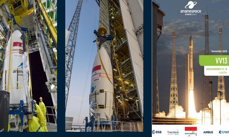 Satellite Mohammed VI-B : Voici la date officielle du lancement