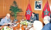 S.A.R. la Princesse Lalla Meryem préside à Rabat  la 7e réunion du Conseil d'administration  de la Fondation Hassan II pour les Œuvres sociales des anciens militaires et anciens combattants