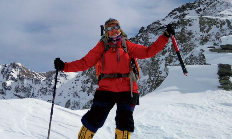 Bouchra Baibanou se lance à la conquête du plus haut sommet du continent Antarctique