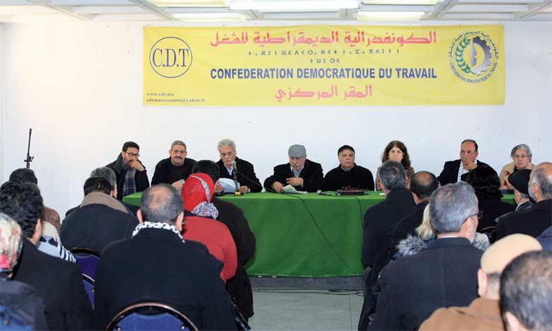 La question qui se pose avec insistance est de savoir qui va succéder au leader historique du syndicat, l'inamovible Noubir Amaoui.