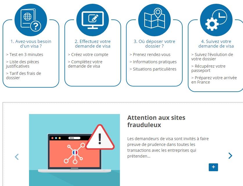Visa : La France lance une nouvelle procédure à partir du 1er décembre