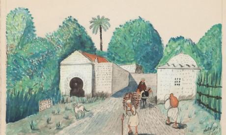 Œuvre de Mohamed Ben Ali Rbati.