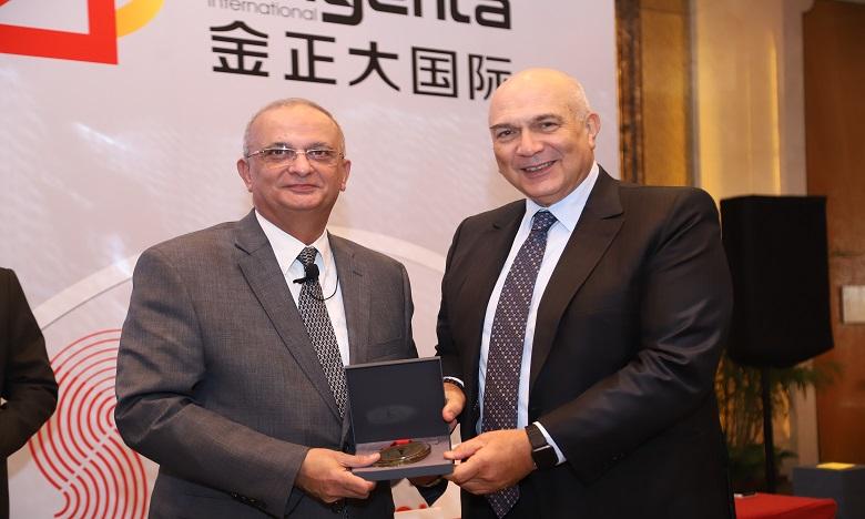 L'OCP décroche la médaille d'or HSE à Pékin