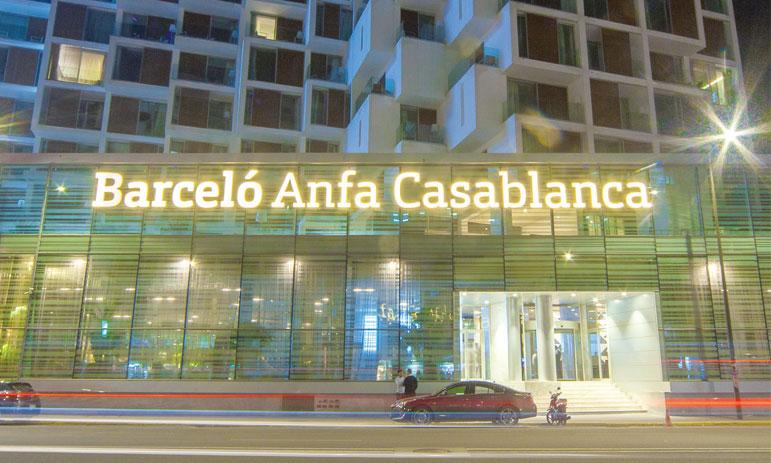 22 millions d'euros pour le Barcelo Anfa Casablanca