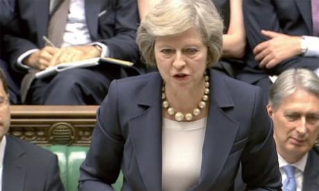 Theresa May a défendu le projet d'accord avec l'UE faisant planer la menace d'un retour en arrière sur le Brexit si elle n'obtenait pas de soutien au Parlement. Ph. DR