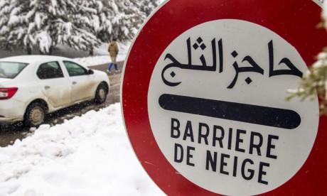 Chutes de neige pouvant atteindre 40cm dans plusieurs provinces du Royaume du lundi au mercredi