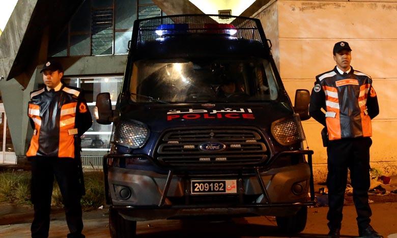 Meknès : Un policier contraint de faire usage de son arme de service