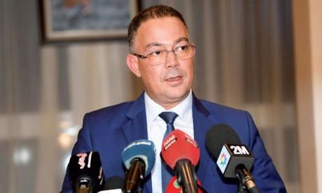 Fouzi Lekjaa appelle la presse à s'unir derrière les Lions de l'Atlas