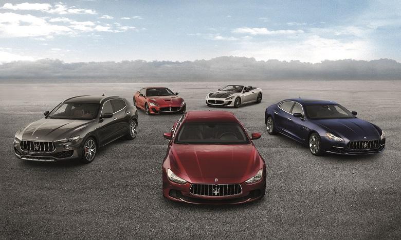 Exposition Maserati à Rabat du 14 au 18 novembre