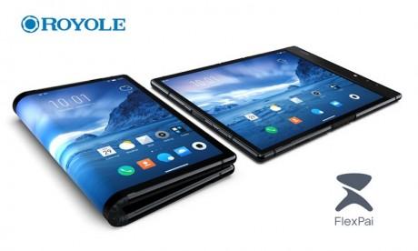 Smartphone pliable : Samsung doublé par Royole