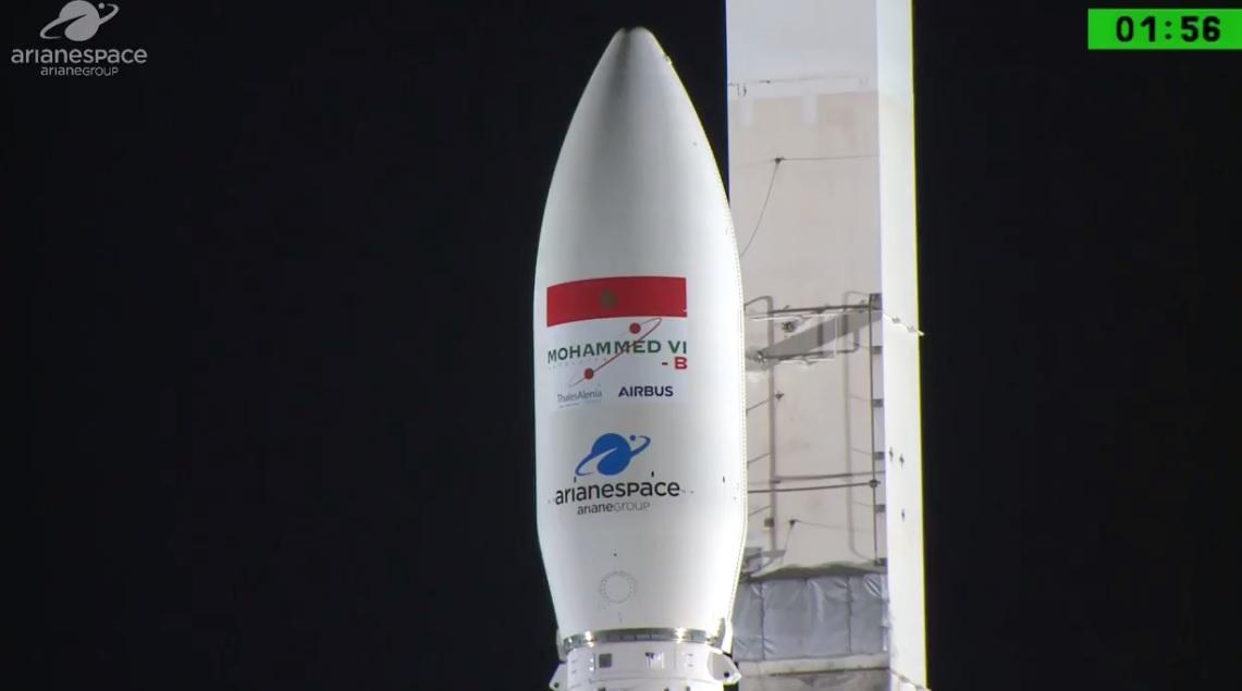 Revoir le lancement du satellite Mohammed VI-B — Vidéo