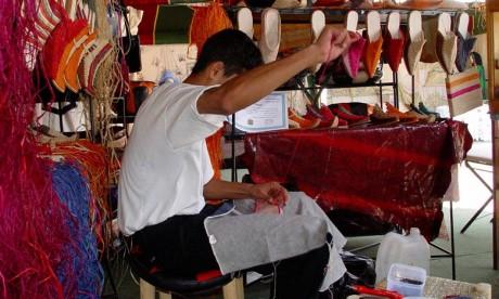 Le secteur de l'«industrie y compris l'artisanat» a créé 19.000 postes «16.000 en milieu urbain et 3.000 en milieu rural». Ph. Kartouch