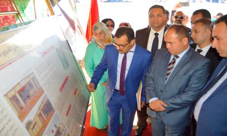 Inauguration de plusieurs projets de développement dans la province